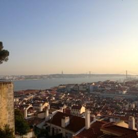 Lisbon from Castelo de S. Jorge.