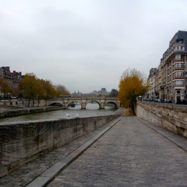 Seine River, Paris.